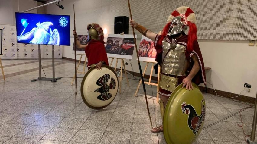 """2.500 χρόνια από την Μάχη των Θερμοπυλών στο """"ΜΕΤΡΟ"""" της Αθήνας -VIDEO"""