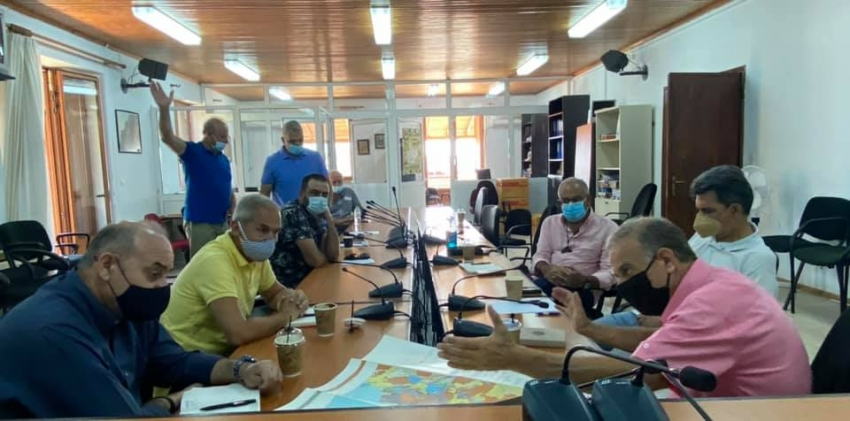 Συνάντηση εργασίας για τη διαχείριση των νερών στον Δήμο Ευρώτα
